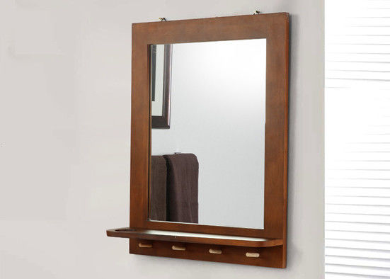 Environmental Safety Copper Free Mirror Thickness Customized For Living Room